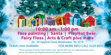 PlayHut Christmas Party tickets
