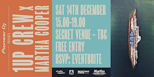 Pioneer DJ Presents: 1UP x Martha Cooper - Art Exhibition & Film Screening