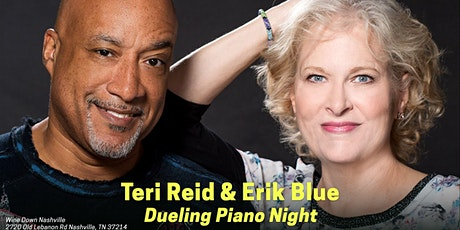Dueling Pianos with Teri Reid and Erik Blue tickets