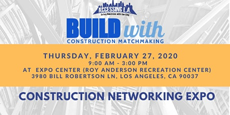2020 Accessing LA - BuildWith [Attendee Registration] tickets