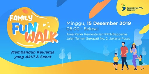 Family Fun Walk Bappenas 2019
