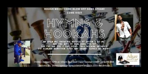 Hymns & Hookahs Open Mic Showcase