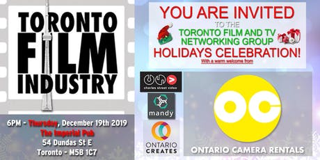 FILM AND TV HOLIDAYS NETWORKING EVENING tickets