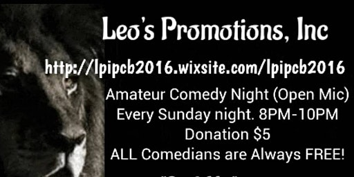 Amateur Comedy Night (Open Mic)