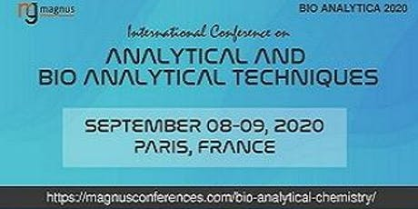 International Conference on Analytical and Bio analytical Techniques billets