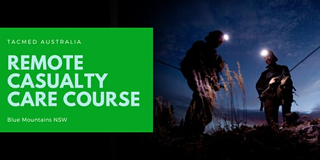 Remote Casualty Care Course tickets