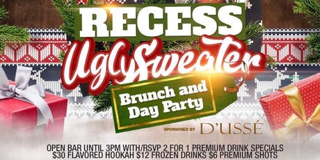 Sat. 12/21: Ugly Sweater Bottomless Brunch & Day Party at TaJ NYC. RSVP NOW tickets