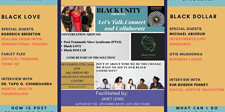 Black Unity: Talk - Connect - Collaborate tickets