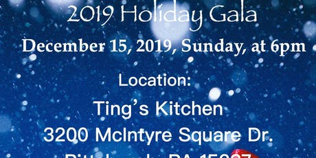 2019 Holiday Gala - Presented by Live Young International, LLC tickets