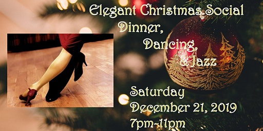Dinner & Jazz Elegant Christmas Social