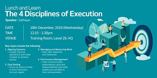 LUNCH & LEARN: THE 4 DISCIPLINES OF EXECUTION