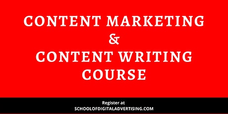 Content Writing & Content Marketing Course – First In Malaysia tickets