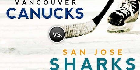 Vancouver Canucks vs. San Jose Sharks tickets