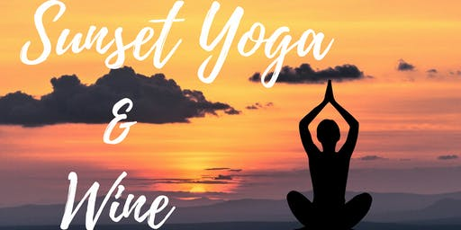 Sunset Hilltop Yoga & Wine