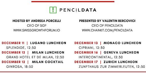 Swiss Growth Forum Luncheon with PencilDATA in Monaco