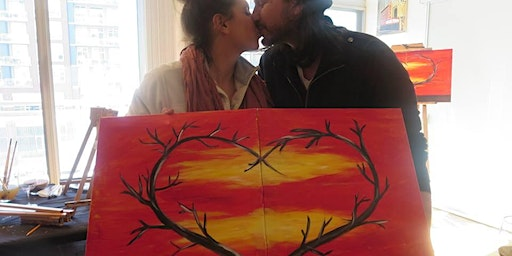 Valentine's Day Couples Painting Workshop