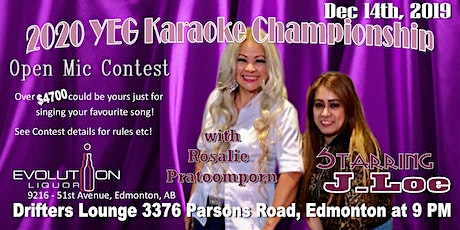 YEG Karaoke Night Hosted By J. Loe tickets
