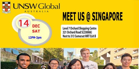 Meet UNSW Global in Singapore Sat 14 Dec  tickets