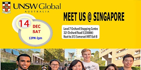 Meet UNSW Global in Singapore Sat 14 Dec  tickets