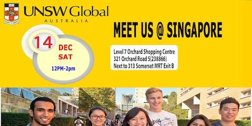 Meet UNSW Global in Singapore Sat 14 Dec