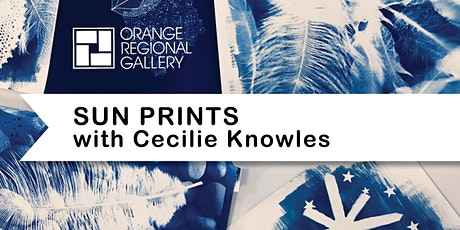 SCHOOL HOLIDAY WORKSHOP - SUN PRINTS (6 years+) with Cecilie Knowles tickets