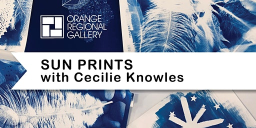 SCHOOL HOLIDAY WORKSHOP - SUN PRINTS (6 years+) with Cecilie Knowles