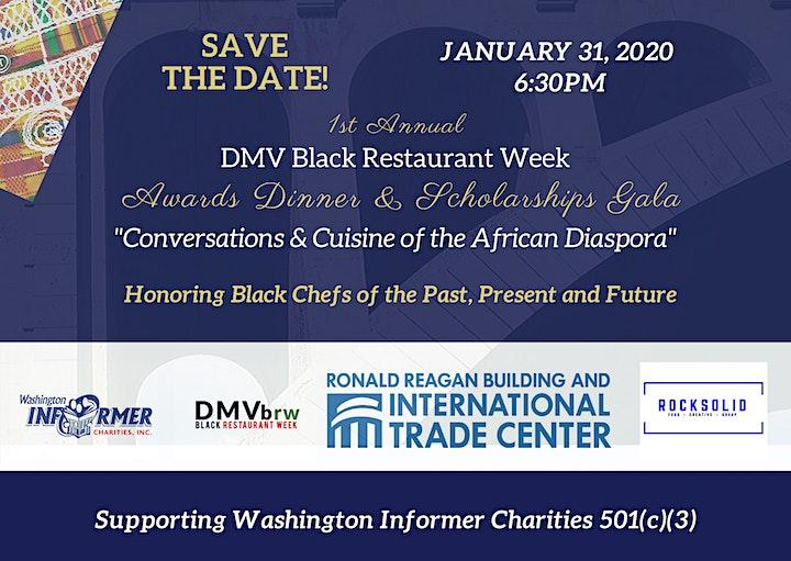DMV Black Restaurant Week 1st Annual Awards Dinner image