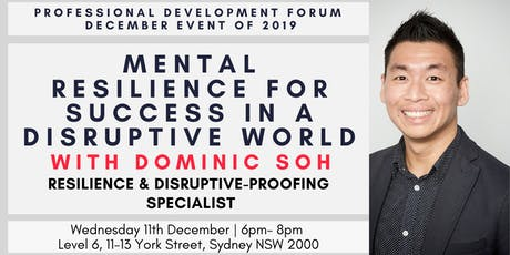 Mental Resilience for Success in a Disruptive World tickets
