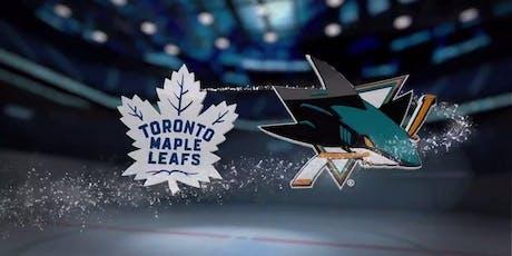 Toronto Maple Leafs vs. San Jose Sharks tickets