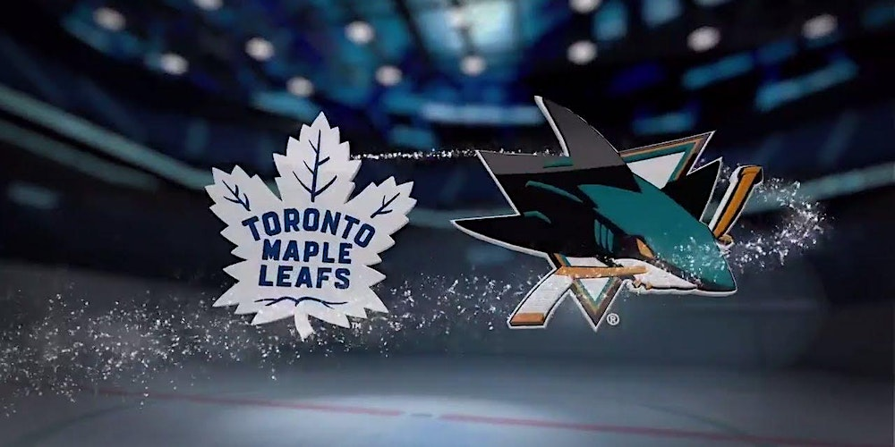 sharks vs maple leafs