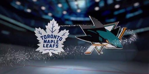 Toronto Maple Leafs vs. San Jose Sharks