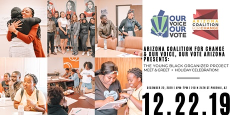 The Young Black Organizer Project Meet & Greet + Holiday Celebration! tickets