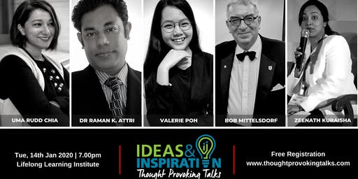 Ideas & Inspiration: Live at LLI (January 2020)