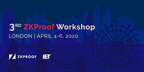 3rd ZKProof Workshop  tickets