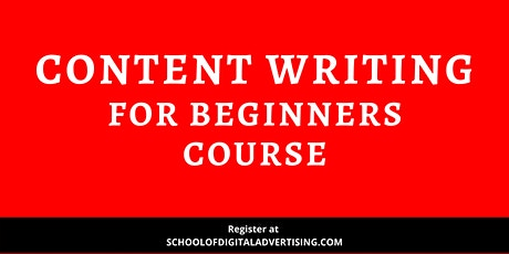 Content Writing For Beginners Course – First In Malaysia tickets
