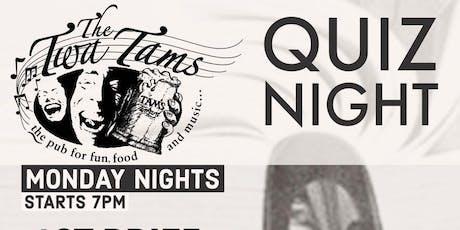 Monday Night Quiz tickets