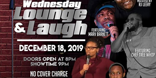 Wednesday's Lounge & Laugh comedy show