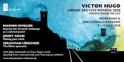 Victor Hugo Urban Sketch Voyage 2.0