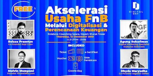 Akselerasi Usaha F&B Melalui Digitalisasi dan Perencanaan Keuangan