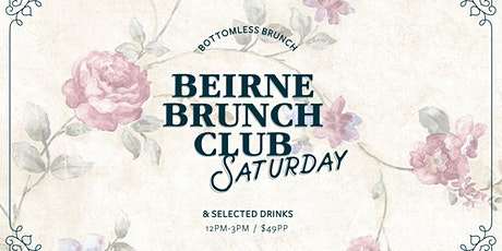 Beirne Brunch Club 21st December tickets