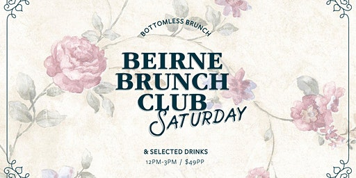 Beirne Brunch Club 21st December