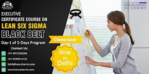 Day-1 Lean Six Sigma Black Belt Course in Delhi