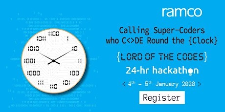 Ramco 24-Hour Hackathon - Lord of The Codes tickets