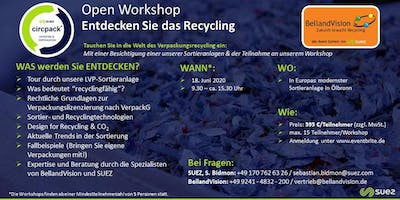 BellandVision & SUEZ.circpack® - Open Workshop Recycling