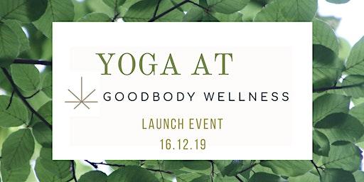 Yoga at Goodbody Welness Launch