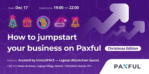 How to Jumpstart Your Business on Paxful - Christmas Edition
