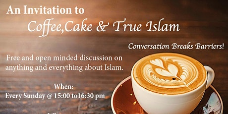 Coffee, Cake and Islam tickets