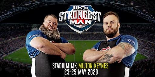 UK's Strongest Man 2020