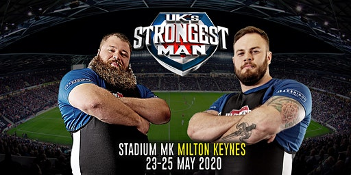 UK's Strongest Man 2020
