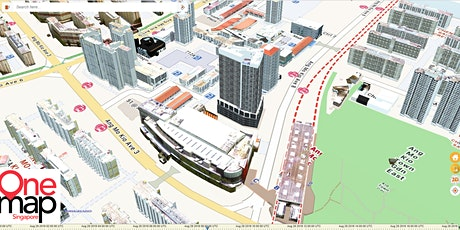How do you envision a 3D city? Come co-develop OneMap3D with us! tickets